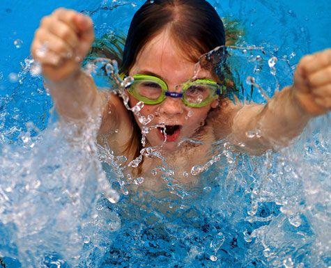 плавание детям